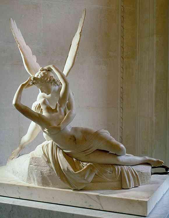 Amor und psyche sculpture